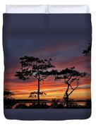 Outer Banks Sunset Duvet Cover