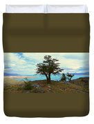 Panoramic View Of Argentinas Largest Duvet Cover