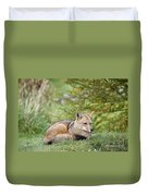 Patagonian Red Fox Duvet Cover