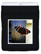 Phoenician Butterfly Duvet Cover