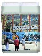 5 Pointz Graffiti Art 3 Duvet Cover