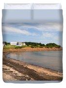 Prince Edward Island Coastline Duvet Cover