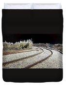 Rails Of Hope Duvet Cover