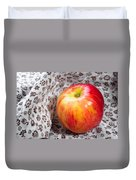 Red And Yellow Apple Duvet Cover