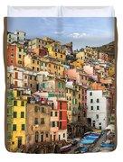 Riomaggiore Duvet Cover