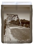 Route 66 - One Lane Bridge Duvet Cover