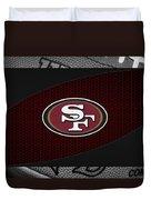 San Francisco 49ers Duvet Cover