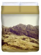 Slope Of Hills In The Scottish Highlands Duvet Cover