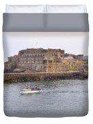 St Peter Port - Guernsey Duvet Cover