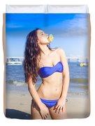 Summer Holiday Duvet Cover
