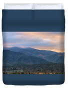 Sunrise In Cades Cove Duvet Cover