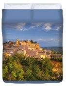 Sunrise Over Roussillon Duvet Cover