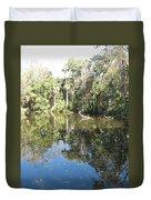 Swamp Reflection Duvet Cover