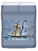 Tall Ships Duvet Cover