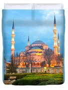 The Blue Mosque - Istanbul Duvet Cover