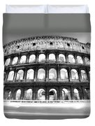 The Majestic Coliseum - Rome Duvet Cover by Luciano Mortula