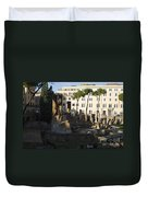 The Sacred Area Of Largo Argentina Duvet Cover