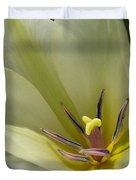 Tulip Named Perles De Printemp Duvet Cover