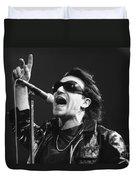 U2 - Bono Duvet Cover