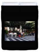 Views From Sorrento Italy Duvet Cover