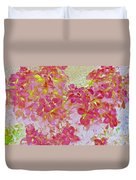 Together Again Watercolor Photography Duvet Cover
