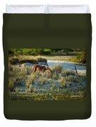 Wild Spanish Mustang Duvet Cover