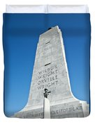 Wright Brothers National Memorial Duvet Cover