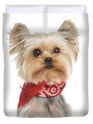 Yorkshire Terrier Dog Duvet Cover