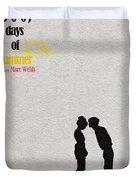 500 Days Of Summer Duvet Cover