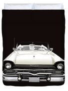 50s Ford Fairlane Convertible Duvet Cover