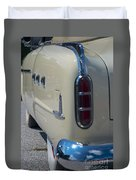 52 Packard Convertible Tail Duvet Cover