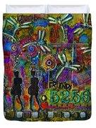 525 600 Minutes - Color Duvet Cover