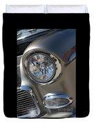55 Bel Air Headlight-8200 Duvet Cover
