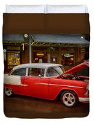 55 Chevy Belair Duvet Cover