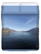 Alpine Lake Duvet Cover