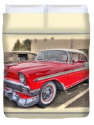56 Classic Chevy Duvet Cover