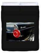 56 Ford Thunderbird Duvet Cover