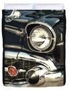 57 Chevy Headlight Duvet Cover