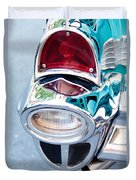 57 Chevy Taillight Duvet Cover