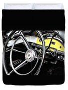 '57 Ford Fairlane 500 Duvet Cover
