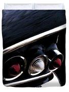 '58 Chevy Impala Fin Duvet Cover