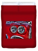 58 Vette Lights Duvet Cover