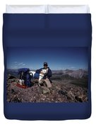 Colorado Rockies Duvet Cover