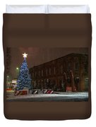 5th And G At Christmas 2012 Duvet Cover