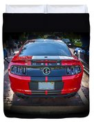 2013 Ford Shelby Mustang Gt500 Duvet Cover