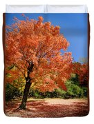 A Blanket Of Fall Colors Duvet Cover