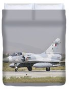 A Qatar Emiri Air Force Mirage 2000 Duvet Cover