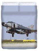 A Turkish Air Force F-4e-2020 Duvet Cover