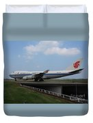Air China Cargo Boeing 747 Duvet Cover