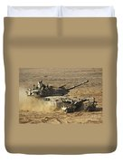 An Israel Defense Force Merkava Mark II Duvet Cover